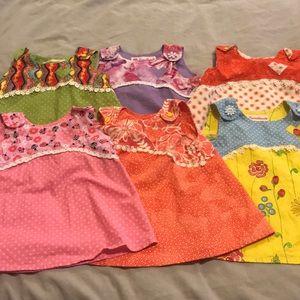 9 handmade dresses